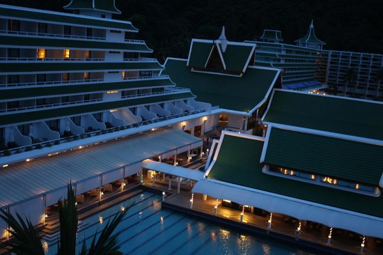 Le Meridien Phuket Beach Resort: From Pool view