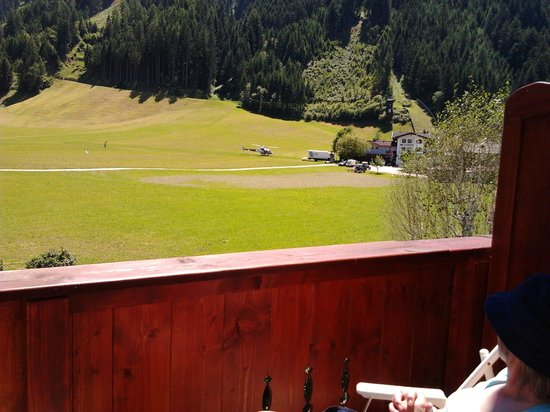 Scheulinghof: from our room's balcony