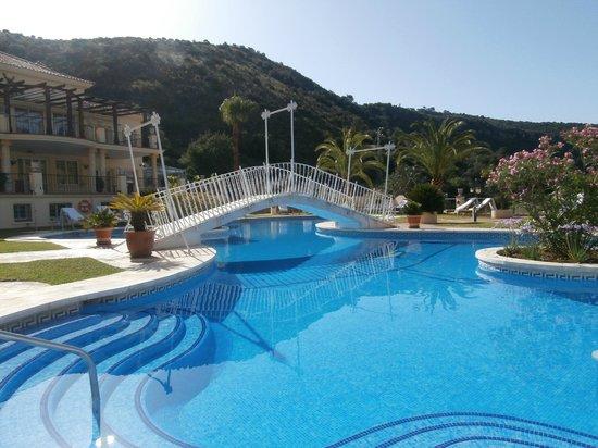 Gran Hotel Benahavis: pool to ourselves