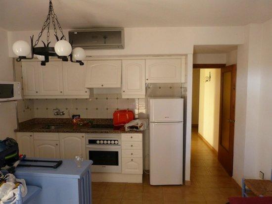 Apartments La Pineda : ładny aneks kuchenny