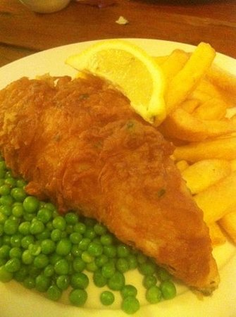The Kicking Donkey: fish and chip 2 for £15.90