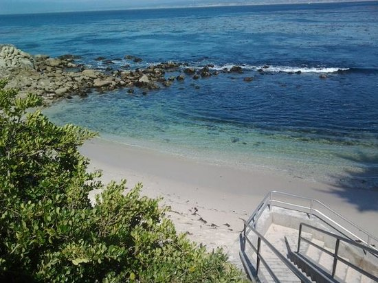 Monterey Peninsula Recreational Trail: Beach near Lovers Point, Photo by Douglas Carroll June 2013