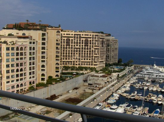 Riviera Marriott Hotel La Porte de Monaco: Meerblick aus dem 11. Stock