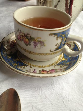Simpson House Inn: Tea Cup