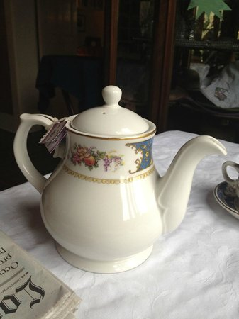 Simpson House Inn: Tea Pot