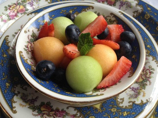 Simpson House Inn: Fruits for Champions