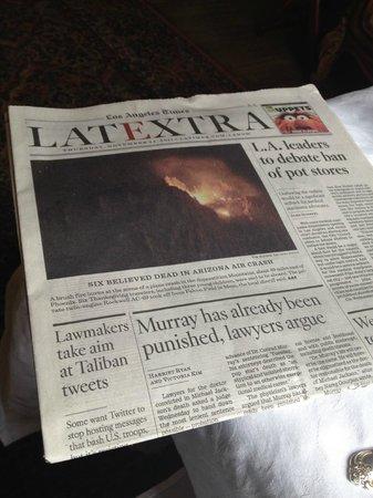 Simpson House Inn: LA Newspaper