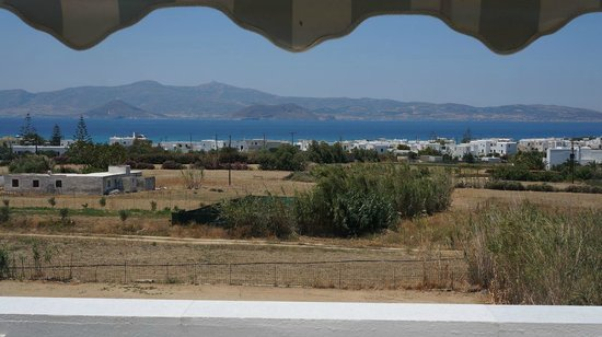 Cycladic Islands Hotel: View with marquee
