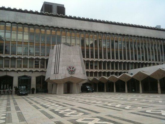 Guildhall Art Gallery: square