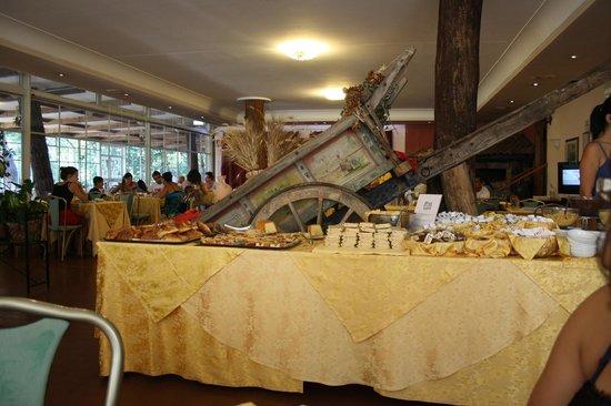 Hotel Romulus: parte del buffet di colazione