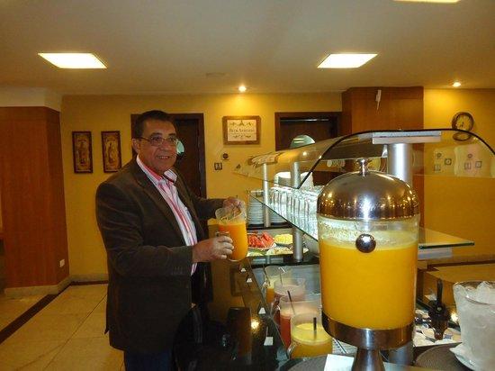 Nadai Confort Hotel & SPA: Café da manhã ultimo dia da hospedagem