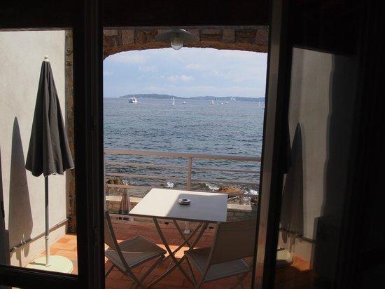 Hotel La Belle Aurore : dalla stanza