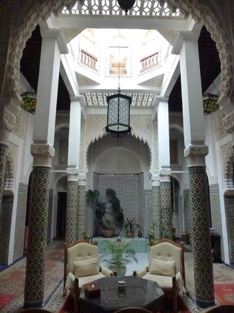 Riad Dar El Mouhit : Hall (patio)