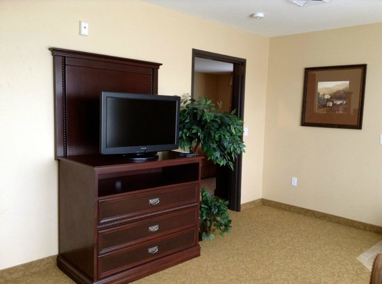 Comfort Inn & Suites McMinnville: Jacuzzi / sitting room/ sofa bed