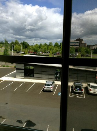 Comfort Inn & Suites McMinnville: View from the bedroom