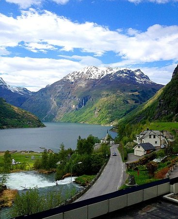 Hotel Union Geiranger: view from room