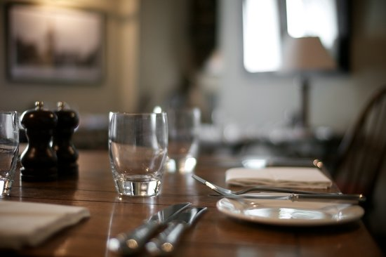 Methuen Arms Hotel: 2 Rossette Dining