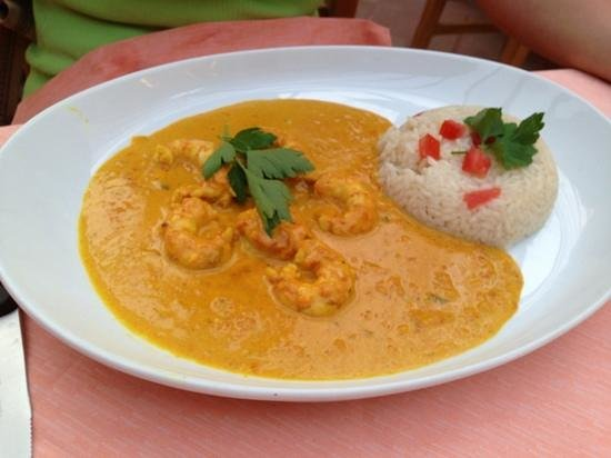 Da Pallino : Gamberi al curry
