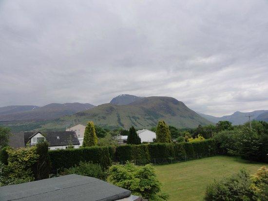 Rustic View Bed & Breakfast : Aussicht zum Ben Nevis