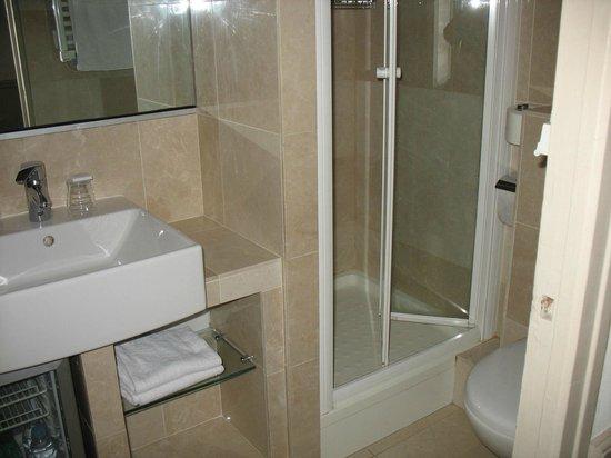 Hotel des Deux Iles : modern, comfortable bathroom