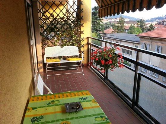 B&B Come a Casa: Balkon im Wohnbereich