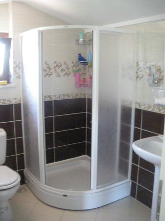 Minta Apart Hotel: toilette and shower