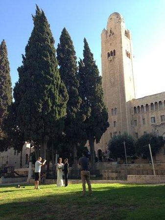 Jerusalem International YMCA: outside