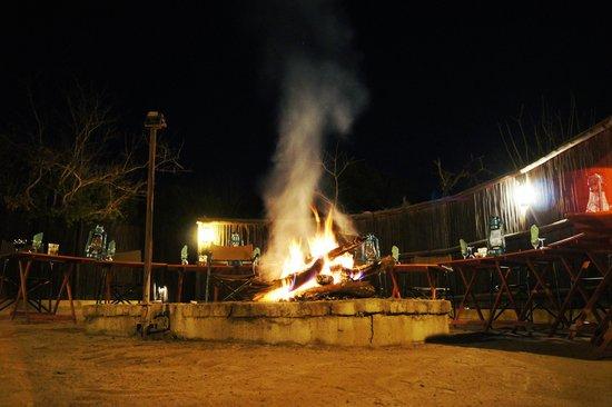 Waterbuck Game Lodge: Boma