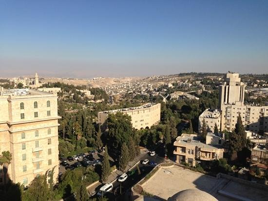 Jerusalem International YMCA : view to the east