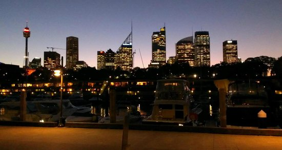 China Doll: The view of the Sydney skyline