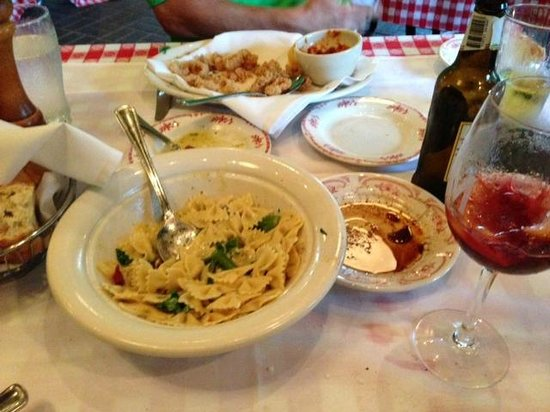 Maggiano's Little Italy: after we ate what we could - plenty of food to say the least