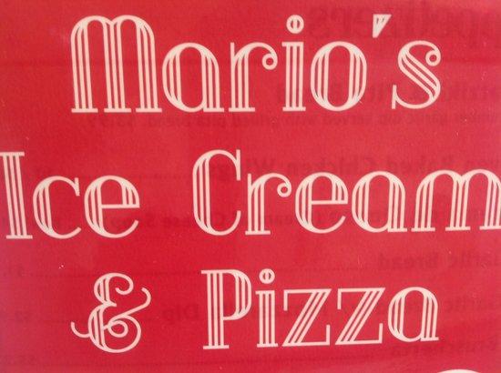 Mario's Ice Cream and Pizza