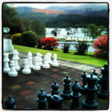 Appin Holiday Homes: Giant chess
