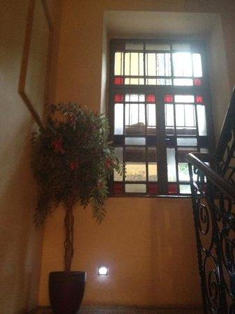 Ventus Rosa Apartments: Beautiful Staircase