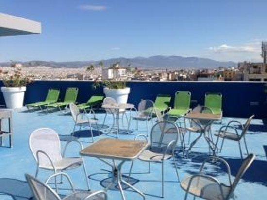 Athens Center Square: terrasse hôtel (2)