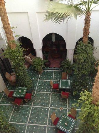 Riad Vert Marrakech: balcony view