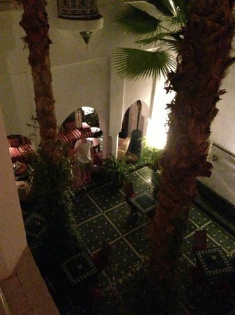 Riad Vert Marrakech: view from the balcony