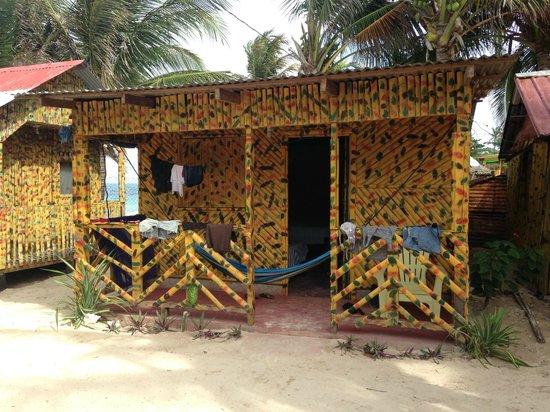 Grace's Place: Beachfront hut.
