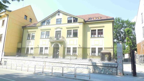 Hotel Grand Zilina : Town square 30ms away