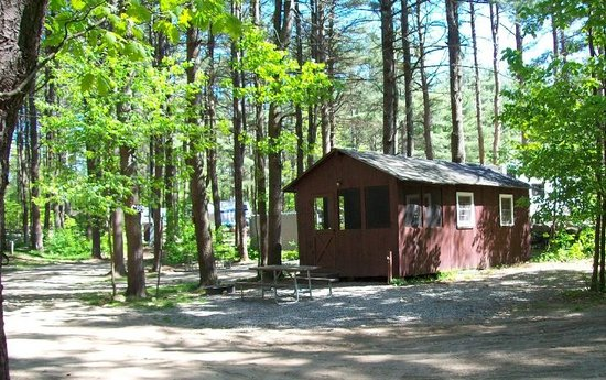 Woodmore Campground: One of the Camping Cabins