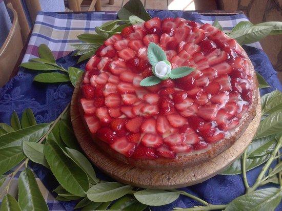Le Cannucceta: torta di fragole
