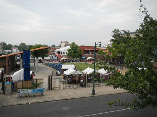 Hampton Inn & Suites Memphis - Beale Street: view from room