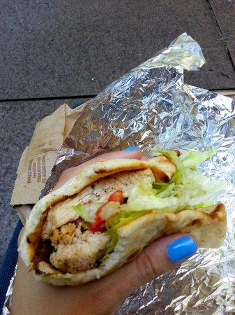 Uncle Gussy's: Chicken Sandwich Greek Style