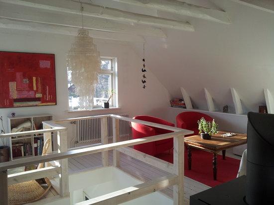 Kvarnen Kornhult Bed and Breakfast - Living room