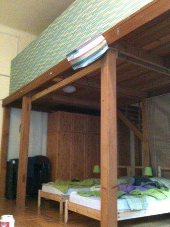Njoy Budapest Hostel : Are room