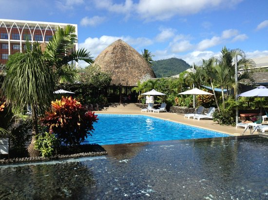 Tanoa Tusitala Hotel: Refreshing Pool