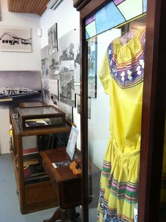 Homestead Historic Town Hall Museum : native garb and more