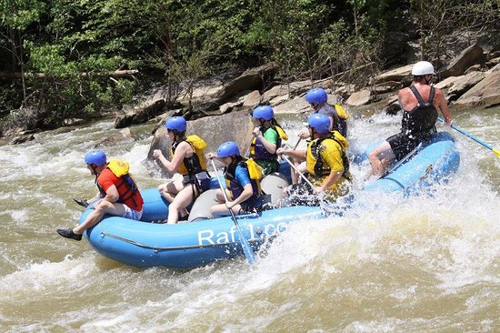 Raft One: 6/15 12pm Middle Ocoee river trip :)