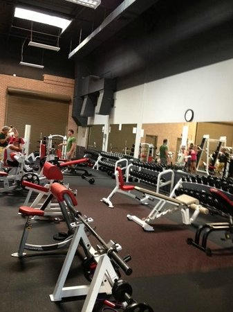 The Gym Maui: We have it all.