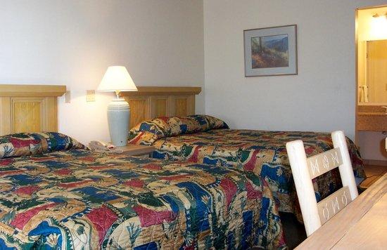 Americas Best Value Inn : Two bedded room
